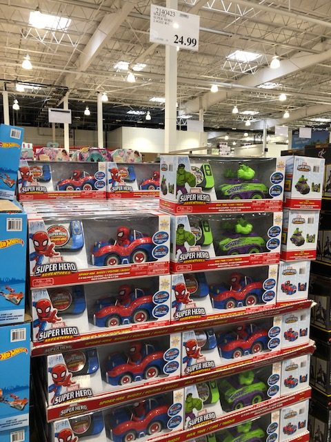 Marvel RC Cars at Costco