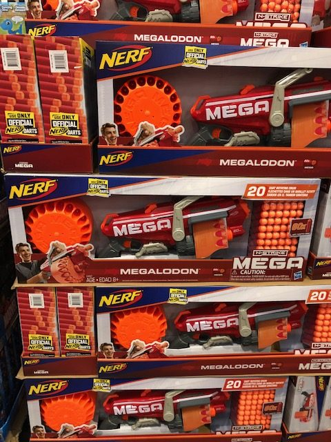 Nerf Megalodon at Costco