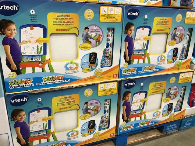 Vtech Easel at Costco