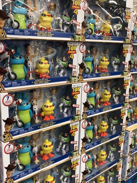 Toy Story 4 toys at Costco