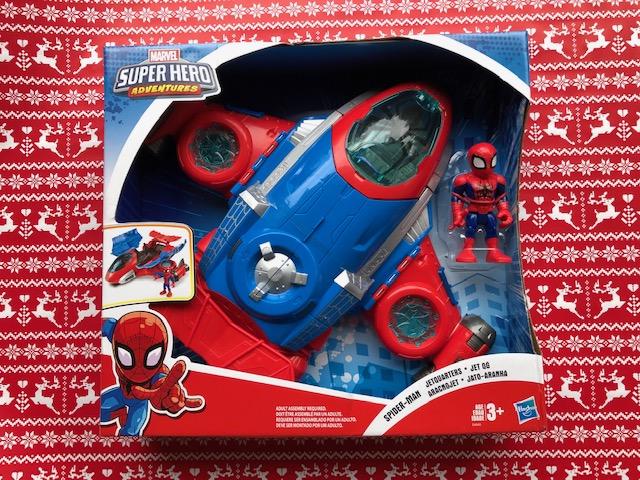 Spider-Man Jetquarters