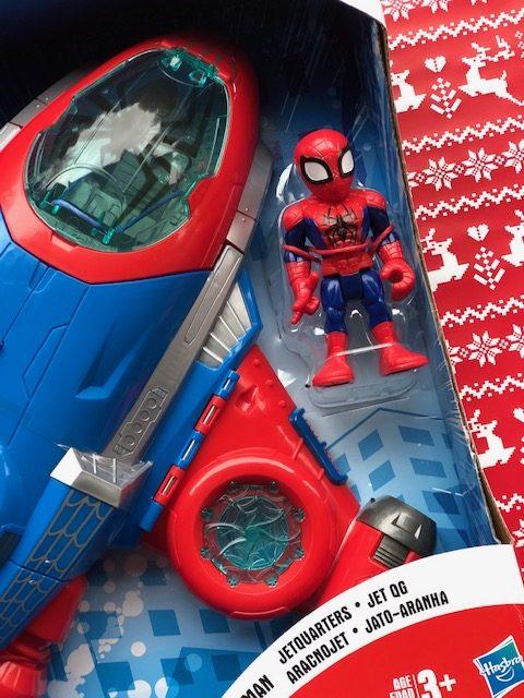 Playskool Spider-Man Jetquarters