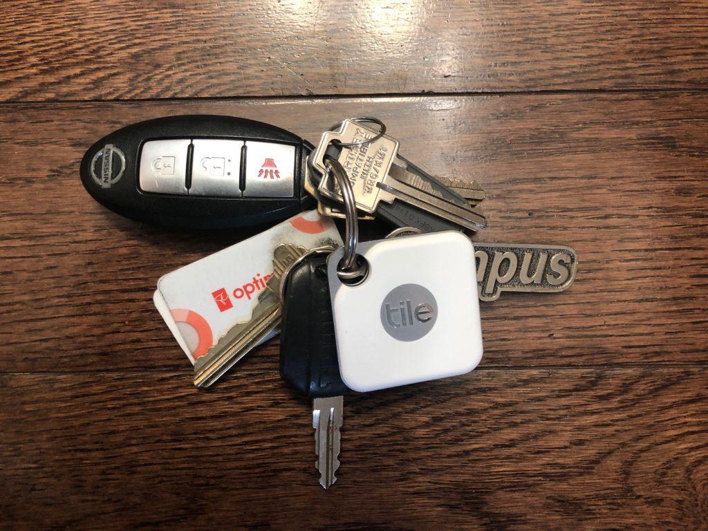 Tile Pro on keys