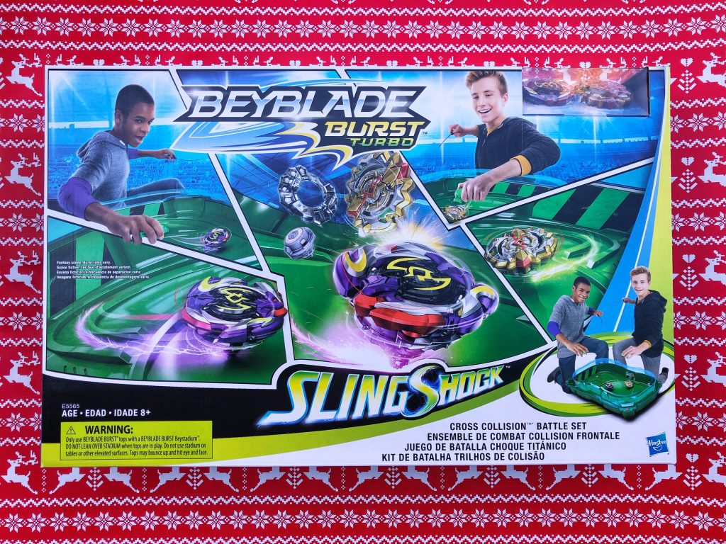 Beyblade Slingshock Cross Collision