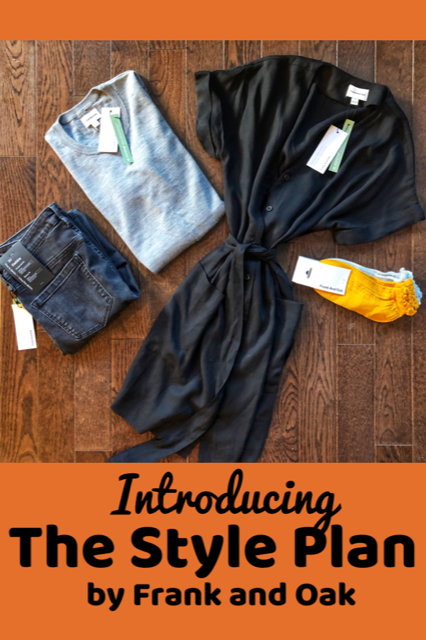 All about the Style Plan by Frank and Oak #Fashion #MomStyle #Subscriptionbox