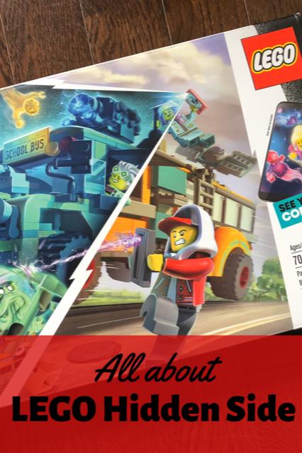 All about LEGO hidden side sets #LEGO #LEGOHiddenSide
