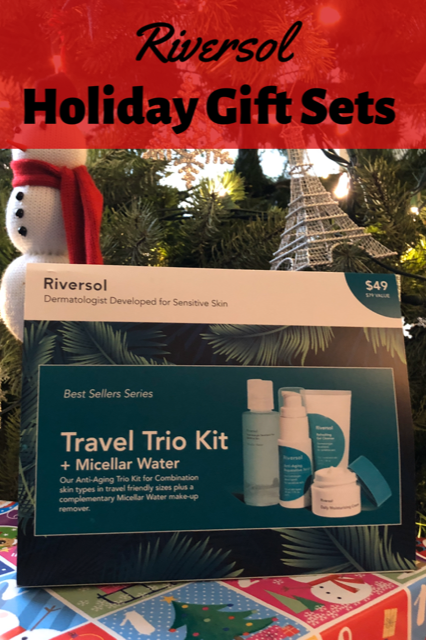 Riversol Holiday Gift Sets #Riversol #Skincare
