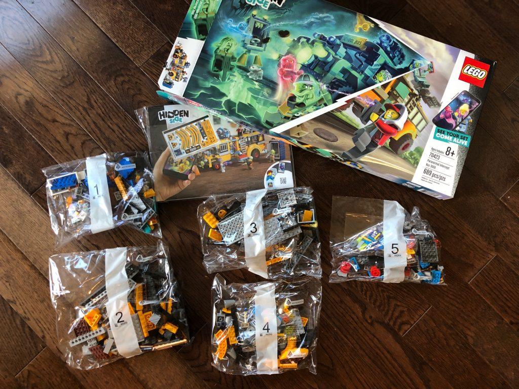 Paranormal Bus 3000 LEGO