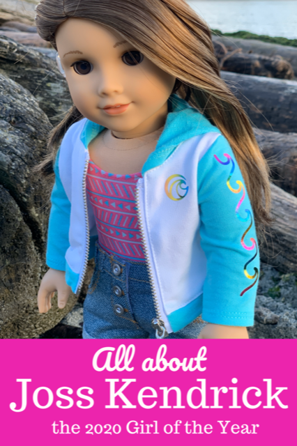 All about Joss Kendrick, the 2020 Girl of the Year doll by American Girl