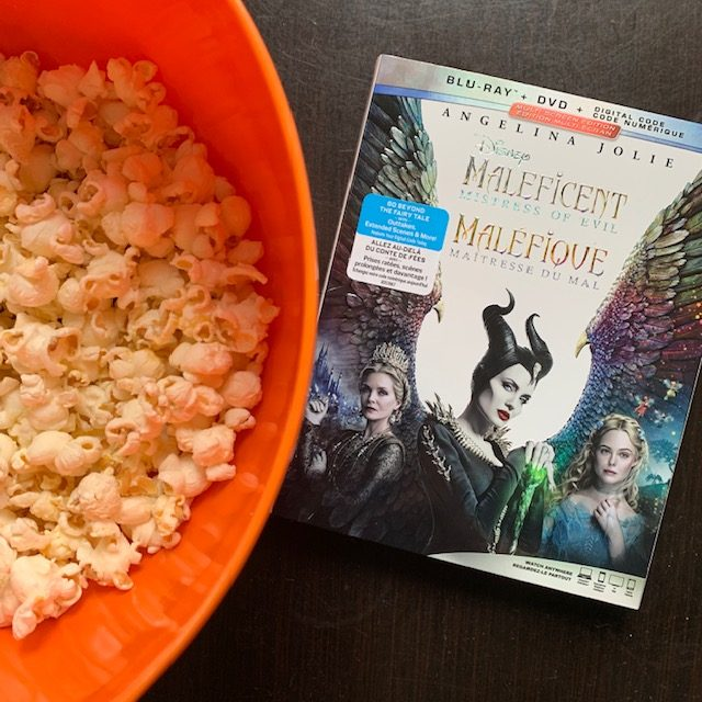 Maleficent Mistress of Evil on Blu-Ray