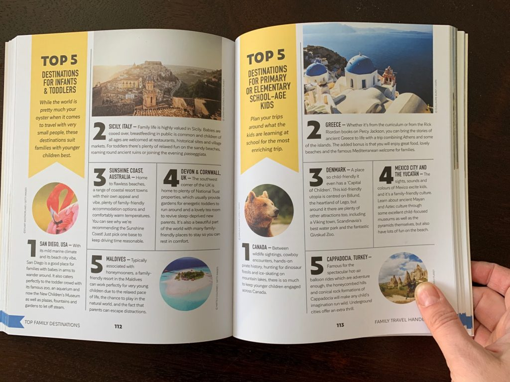 Top 5 The Family Travel Handbook
