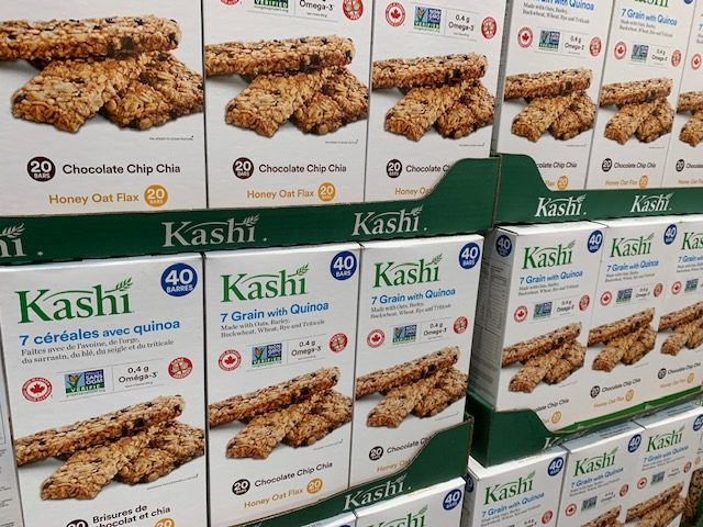 Kashi bars at Costco