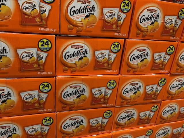 Goldfish at Costco