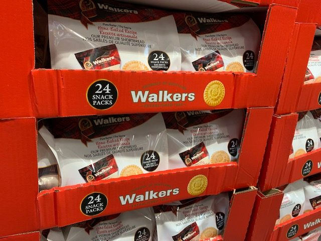 Walkers shortbread at Costco
