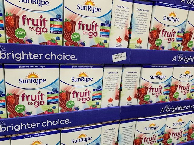 Fruit to Go at Costco