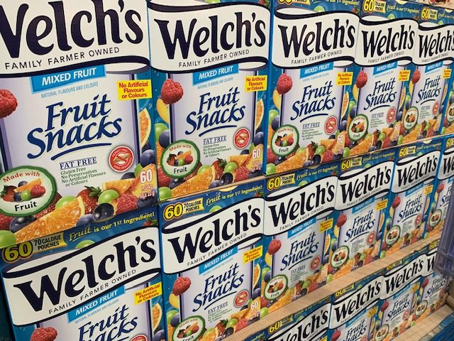 Welch's Fruit Snacks at Costco