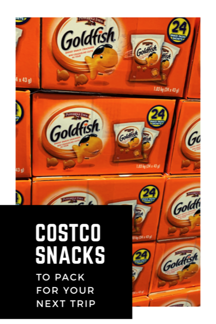 Costco Snacks to Pack for your Next Trip