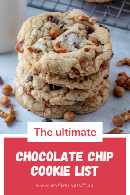 The Ultimate Chocolate Chip Cookie list