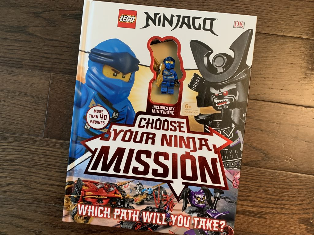 LEGO Choose your ninja mission