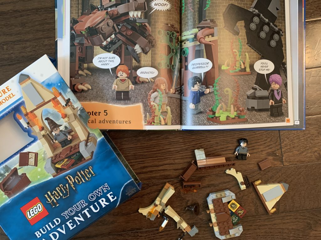 Harry Potter build your own adventure