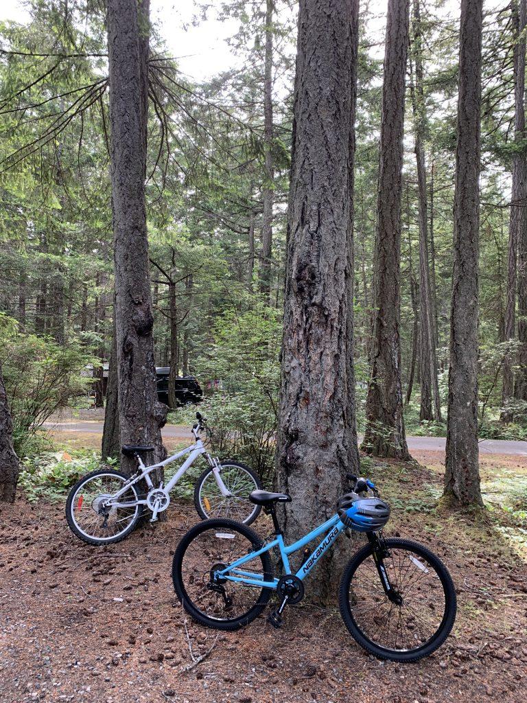 BC Campground bikes