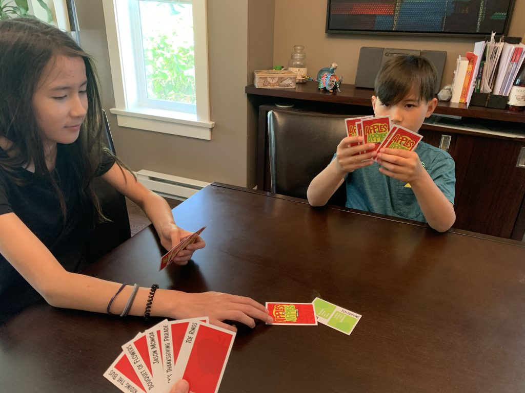 Playing Apples to Apples