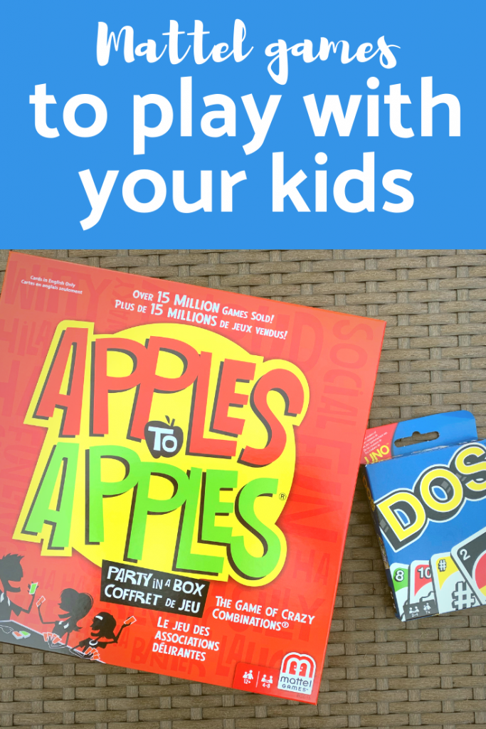Mattel Games to play with your kids #Gamenight