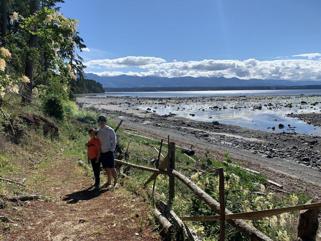 Fossil Beach Farm beach access