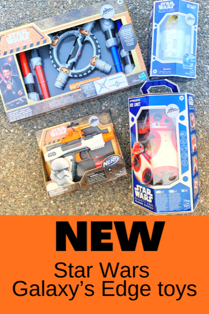 NEW: Star Wars Galaxy's Edge toys. Get these before they fly off the shelves!