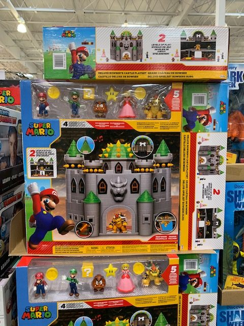 Bowser's Castle playset