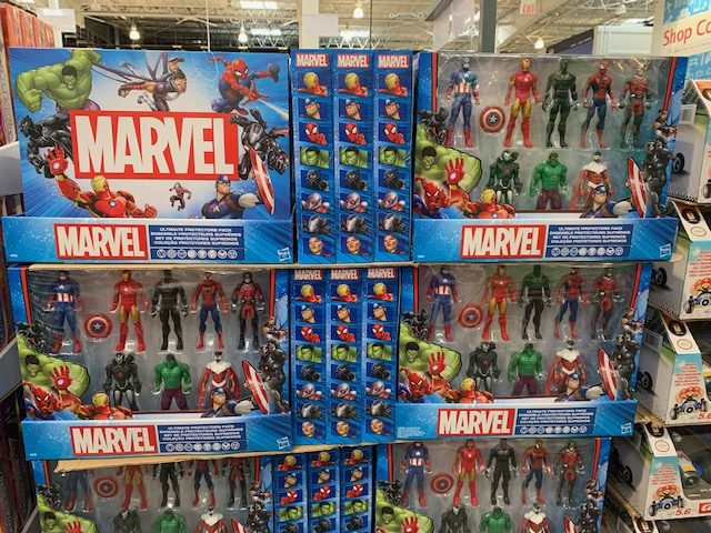 Marvel Ultimate Protectors toys