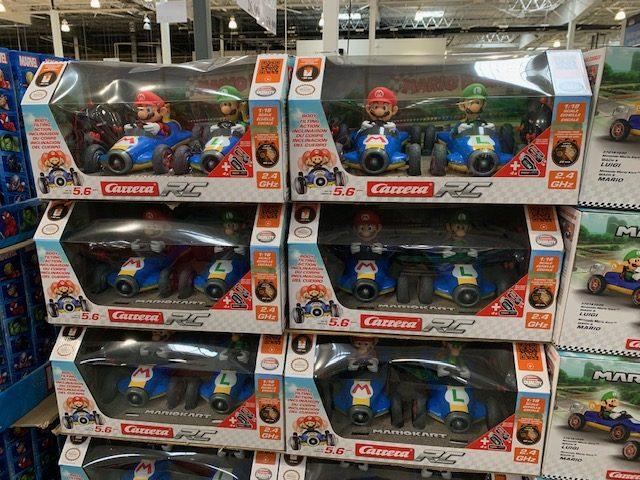 Mario Kart Mario & Luigi R/C Twin Pack