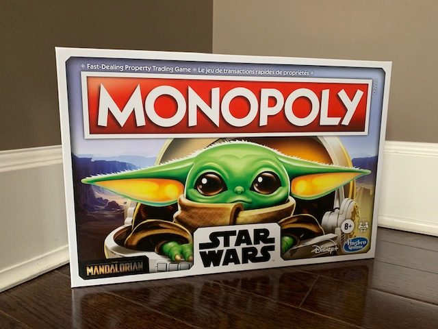 Star Wars Monopoly The Child