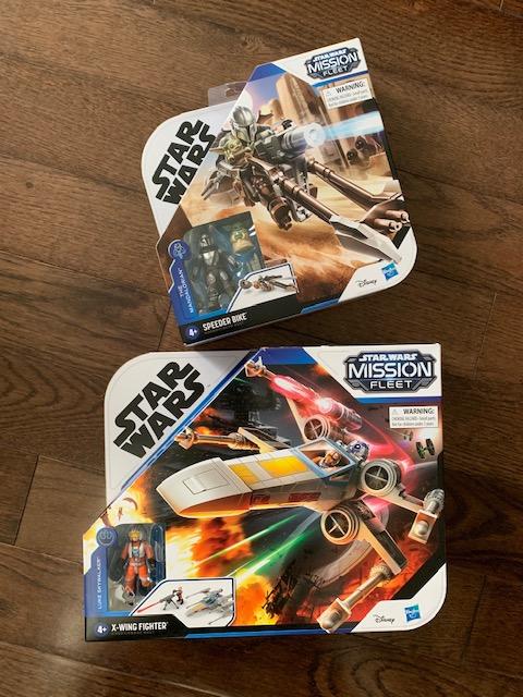 Star Wars Mission Fleet Toys