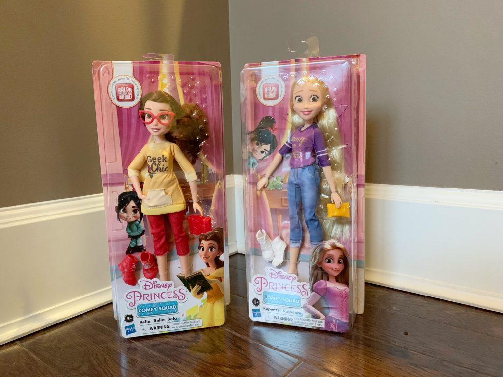 Disney Princess Squad dolls
