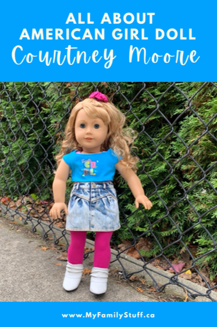 American Girl doll Courtney Moore