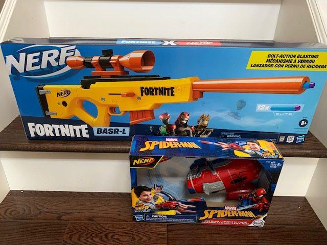 New Nerf Toys