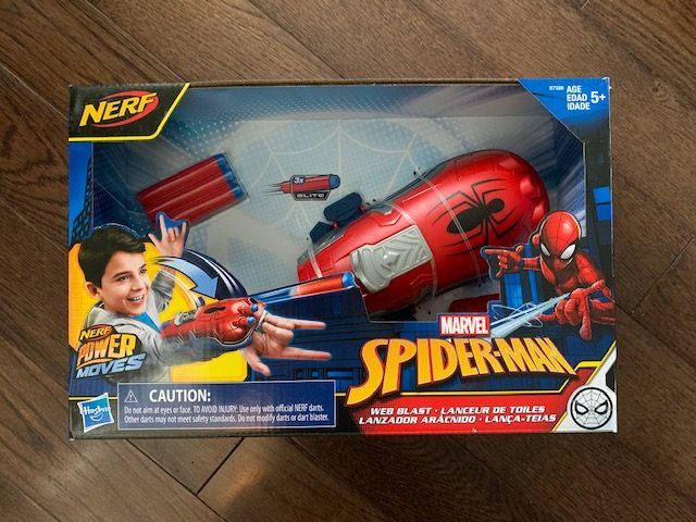 Spider-Man Nerf