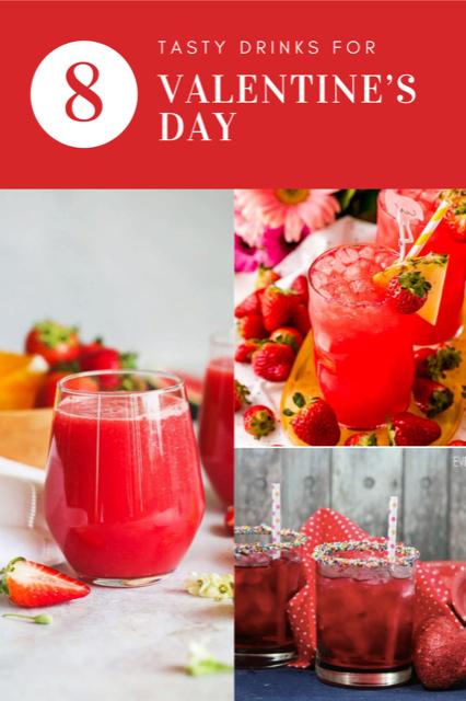 8 Tasty Drinks for Valentine's Day