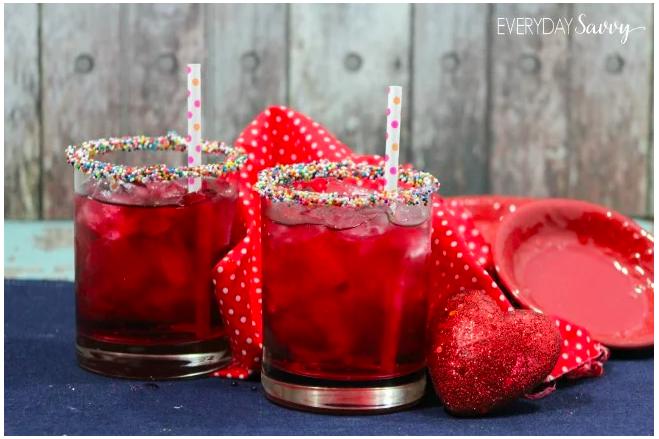 Valentine's Easy Mocktail
