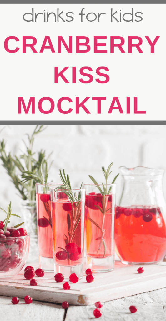 Cranberry Kiss Mocktail