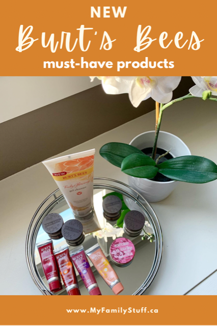 New Burt's Bees Must-Have products