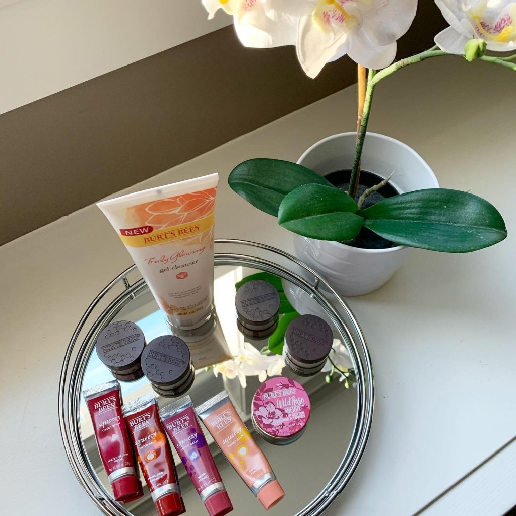 Burt's Bees makeup and skincare