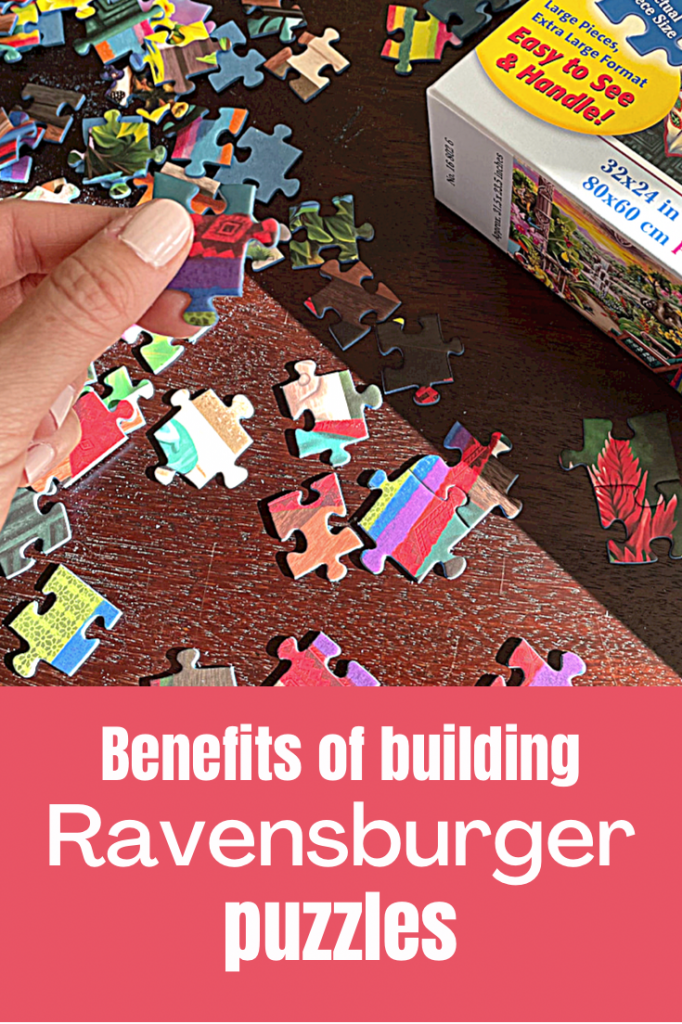 benefits of building Ravensburger puzzles