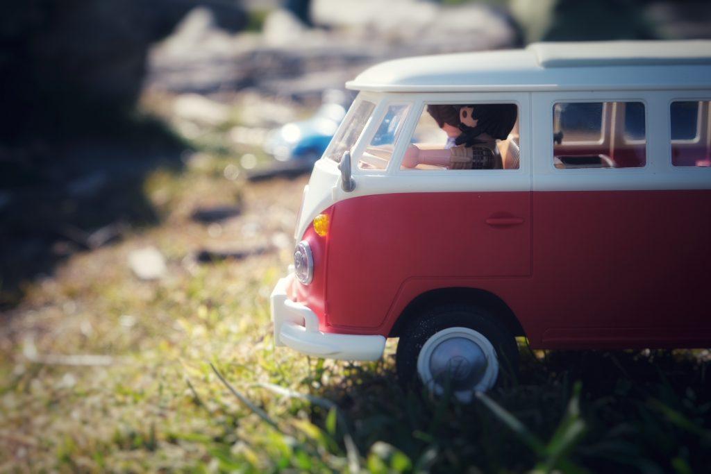 Volkswagen T1 Camper Bus Playmobil