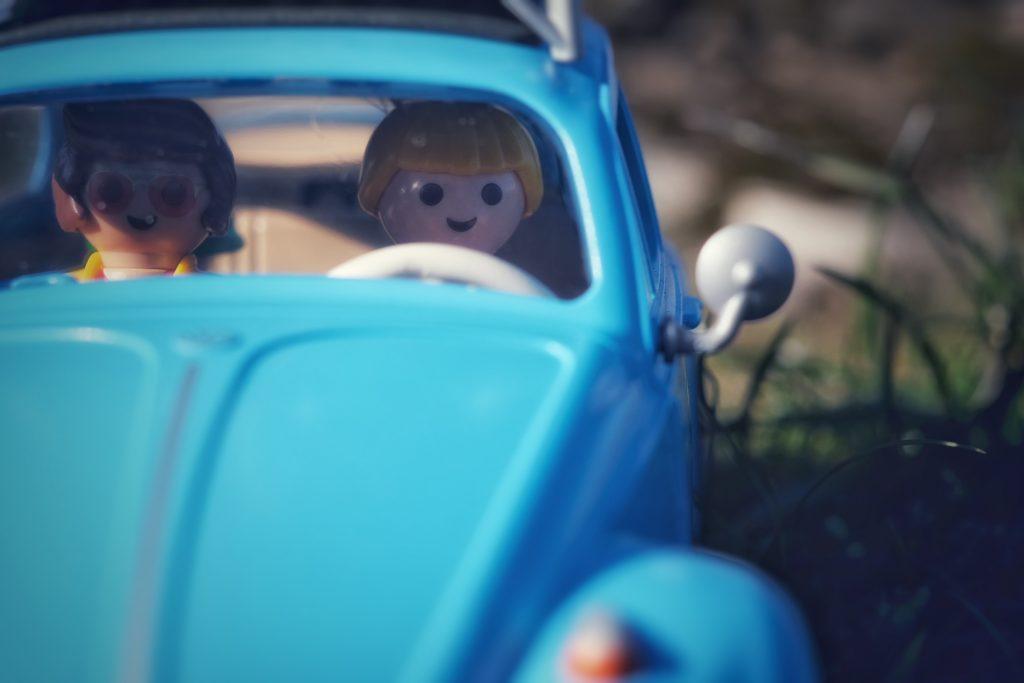 Blue Volkswagen Beetle Playmobil