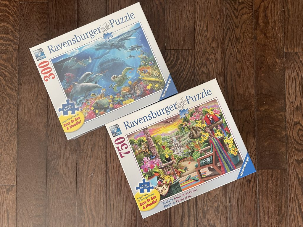Ravensburger adult puzzles