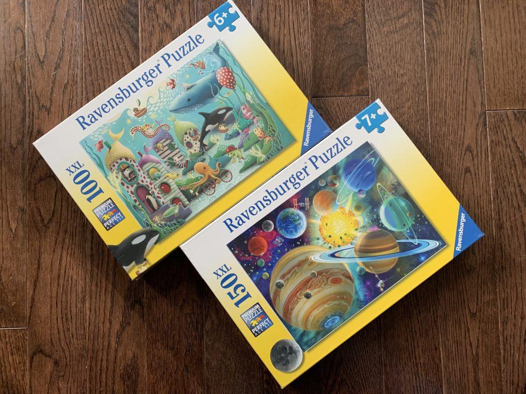Ravensburger kid puzzles