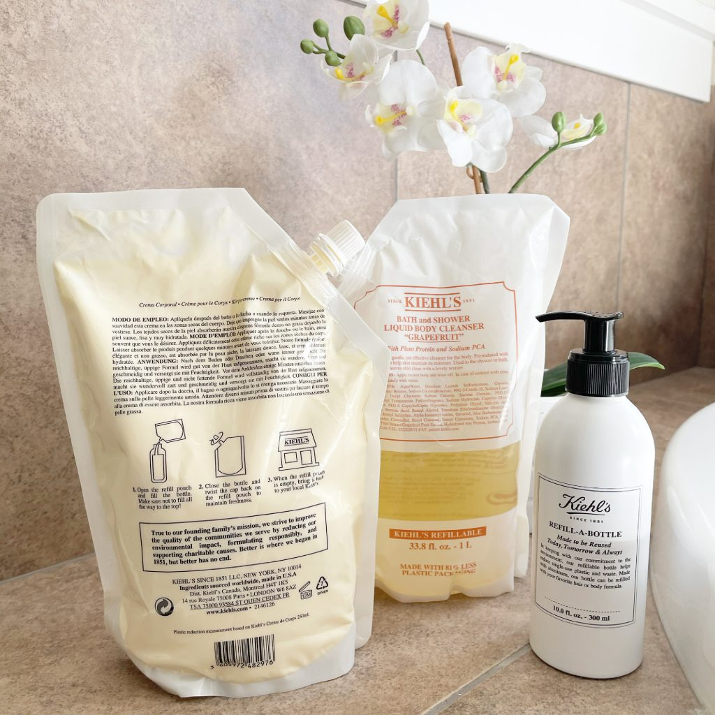 Refillable Pouches by Kiehl's