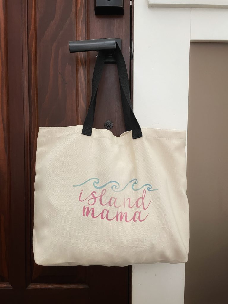 Cricut Mother's Day tote